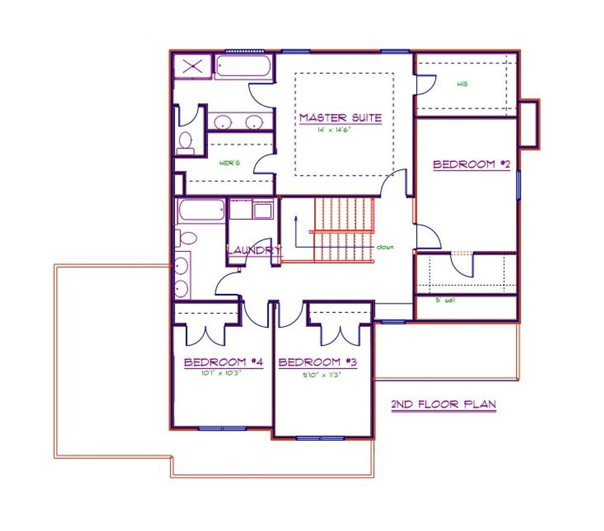 Hampton Second Floor