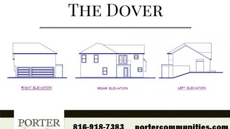 The Dover Side Rear Elevation