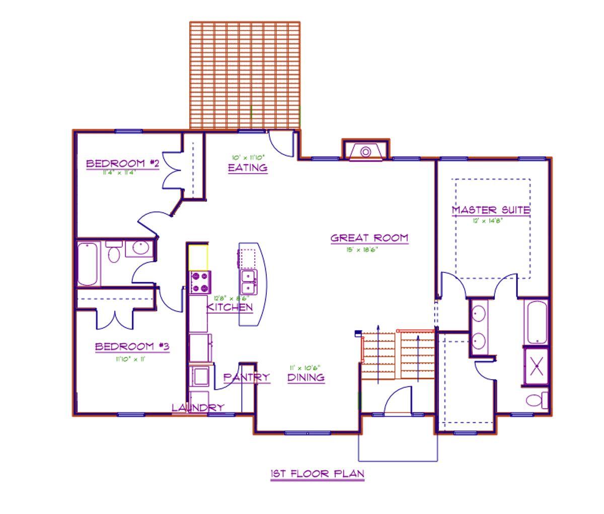 Birkdale Floor Plan