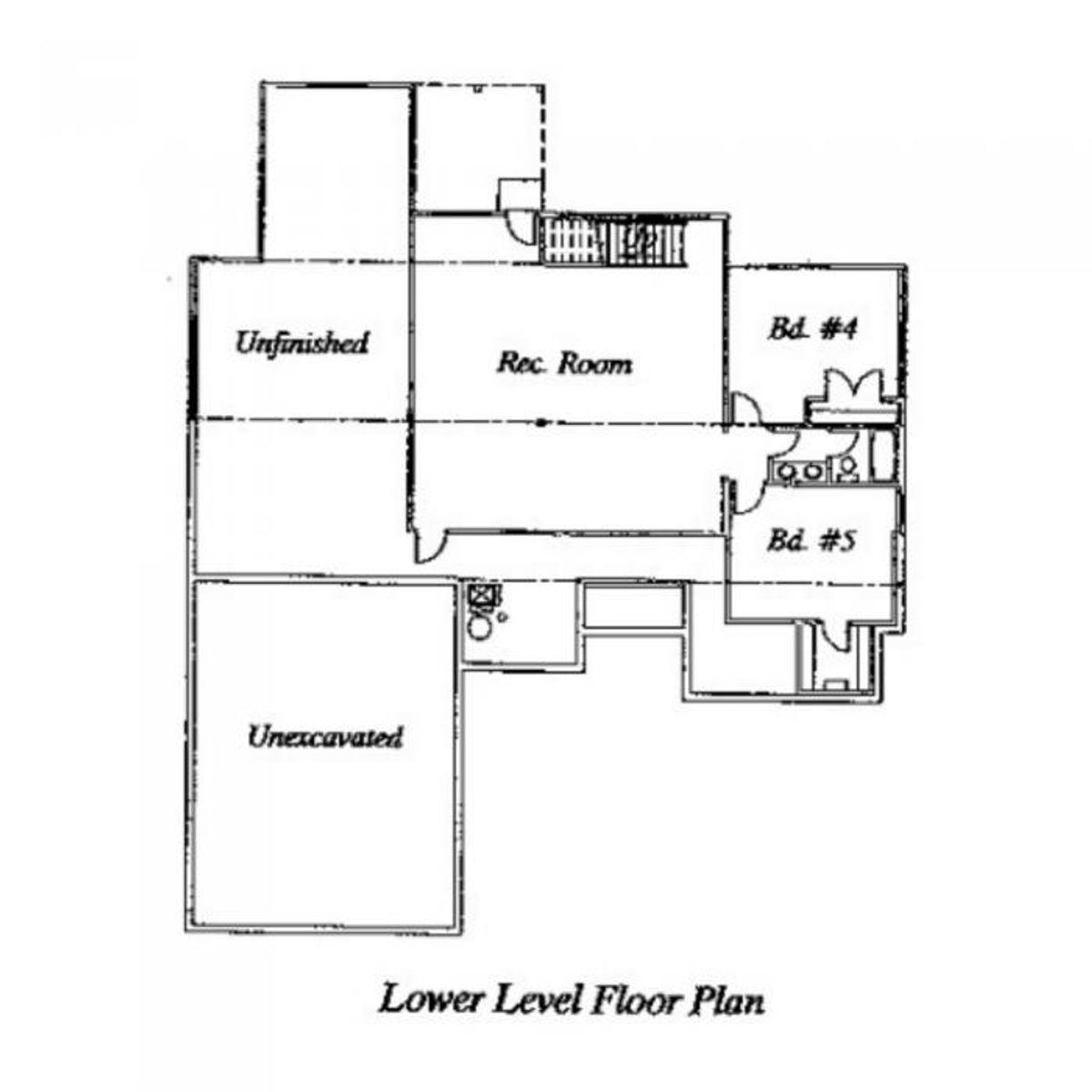 Nika Lower Level Floor Plan