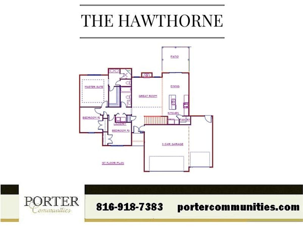 Hawthorne First Floor