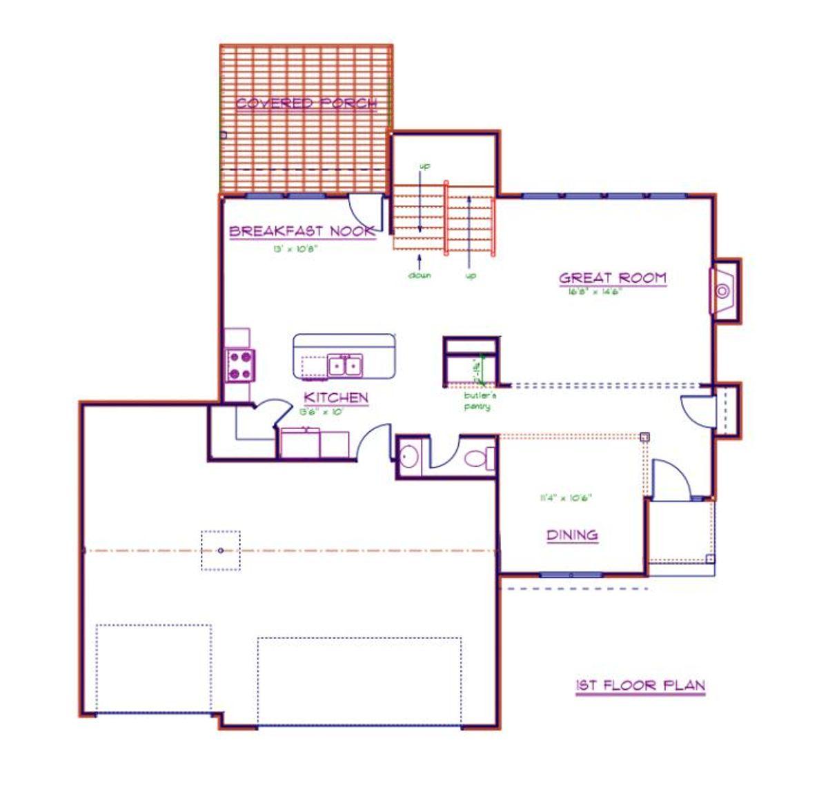 Ashland II First Floor