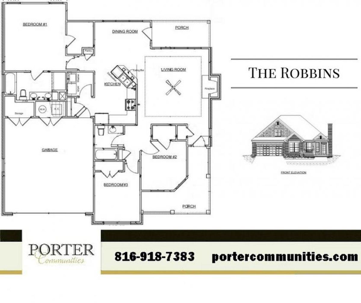 The Robbins - Floor Plan