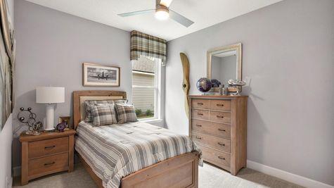 The Apopka Model at Pioneer Village Bedroom 3