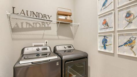 Royal Model - Laundry Room