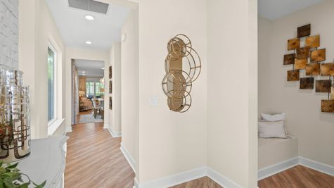 Jackson Model Home - Foyer 3