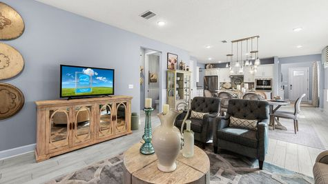 Hernando Model - Family Room 3
