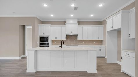 The Ginnie at Kettering Lot 117 Kitchen