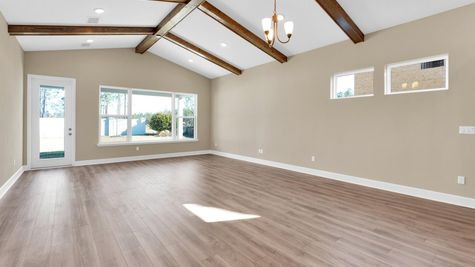 The Gilchrist at Kettering Lot 24 Family Room