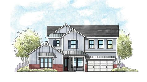 The Madison Farmhouse Elevation 5