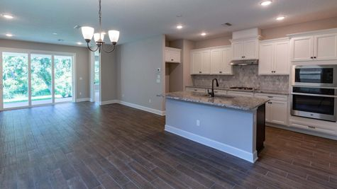 The Jackson at Liberty Cove Lot 47 Kitchen