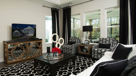 The Ellaville Model Family Room