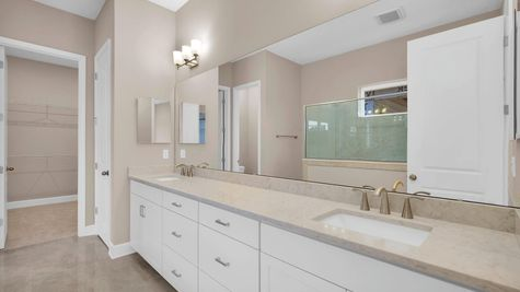 The Ginnie at Kettering Lot 117 Owner's Bath