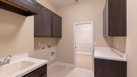 The Buckhorn at Lot 106 in Gran Lake Laundry Room
