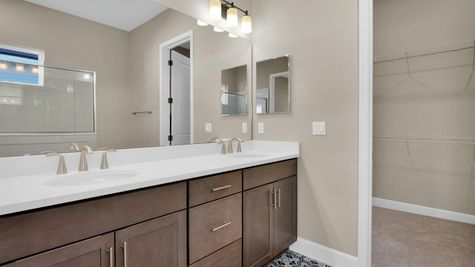 The Gilchrist at Kettering Lot 24 Owner's Bath