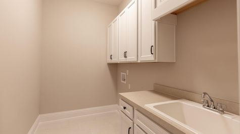 The Charlotte at Lot 437 in The Outlook Laundry Room