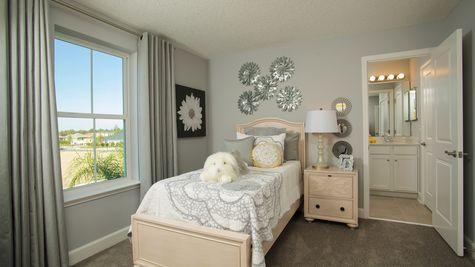 The Lafayette Model at Greenleaf Lakes Bedroom 3