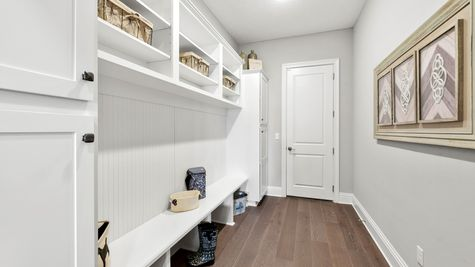 Collier Model - Mudroom Cabinets