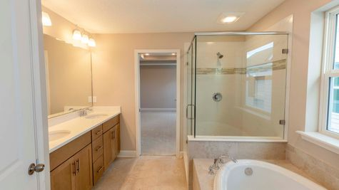The Fanning at Liberty Cove Lot 52 Owner's Bath