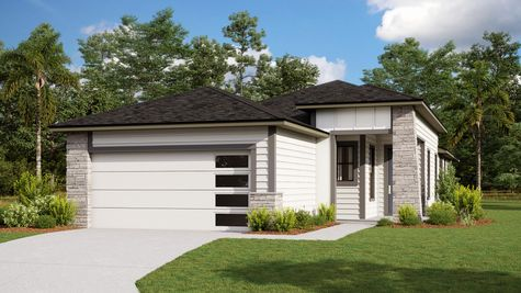 The Holton Modern Prairie Elevation 1