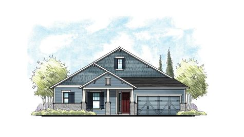 The Ellaville Southern Craftsman Elevation 6