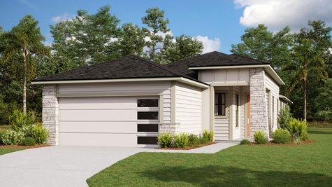 The Holton Modern Prairie Elevation 3