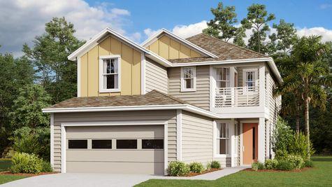 The Juniper Modern Farmhouse Elevation 4