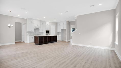 The Alexander at Freedom Landing Lot 133 Family Room