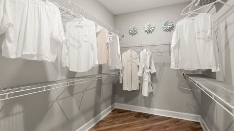 Jackson Model Home - Owners Closet