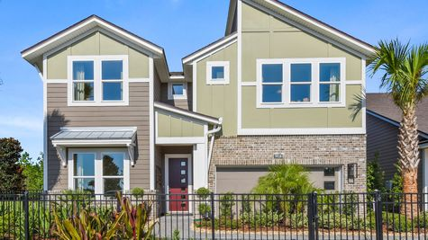 Manatee Model Home - Modern Eclectic