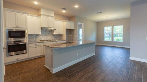 The Buckhorn Florida at Lot 214 in Heritage Trace Kitchen