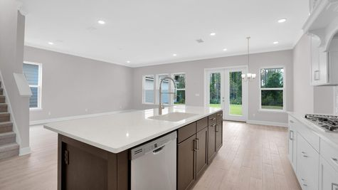 The Alexander at Freedom Landing Lot 133 Kitchen