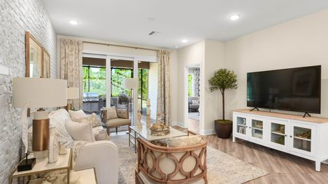 Jackson Model Home - Family Room 2