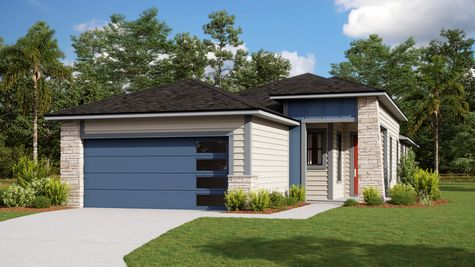 The Holton Modern Prairie Elevation 7