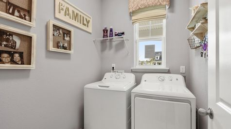 Apopka Model - Laundry Room