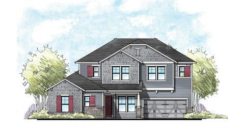 The Madison Craftsman Elevation 3