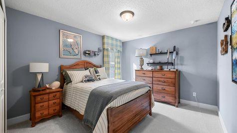 The Hernando Model at Pioneer Village Bedroom 3