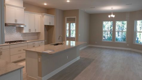 The Ellaville at Heritage Trace Lot 243 Kitchen