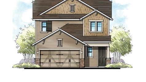 The Hernando Southern Craftsman Elevation 3
