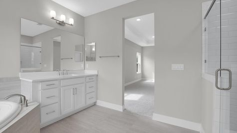 The Alexander at Freedom Landing Lot 133 Owner's Bath