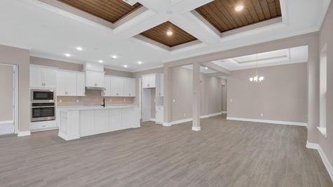 The Ginnie at Kettering Lot 117 Family Room