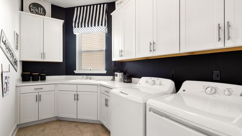 Ellaville Model - Laundry Room 1
