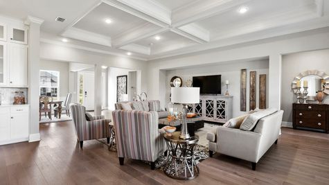 Collier Model - Family Room 4