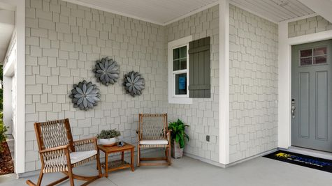 The Apopka Model at Pioneer Village Front Porch