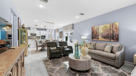 Hernando Model - Family Room 4