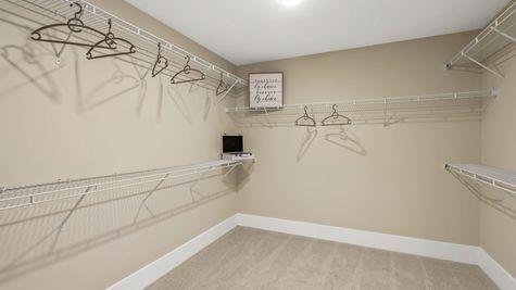 Manatee Model - Owners Closet