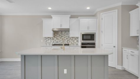 The Fanning at Pioneer Village Lot 79 Kitchen
