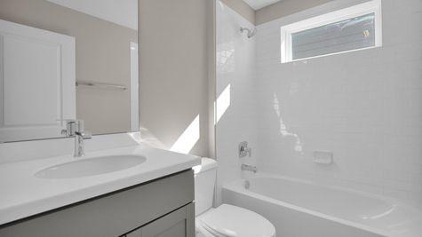 The Fanning at Pioneer Village Lot 79 Bathroom 2