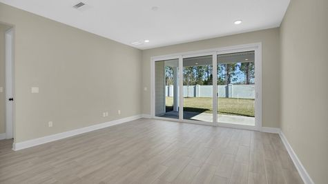 The Hernando at Kettering Lot 26 Family Room