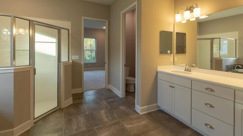 The Buckhorn at Lot 214 at Heritage Trace Owner's Bath